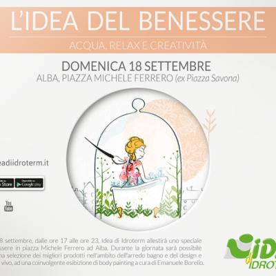 Ad Alba… appuntamento con L'Idea di benessere!
