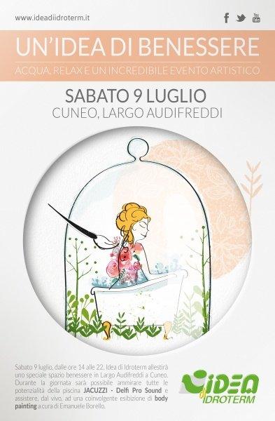 L'idea del Benessere…vetrina a Cielo Aperto in Cuneo!