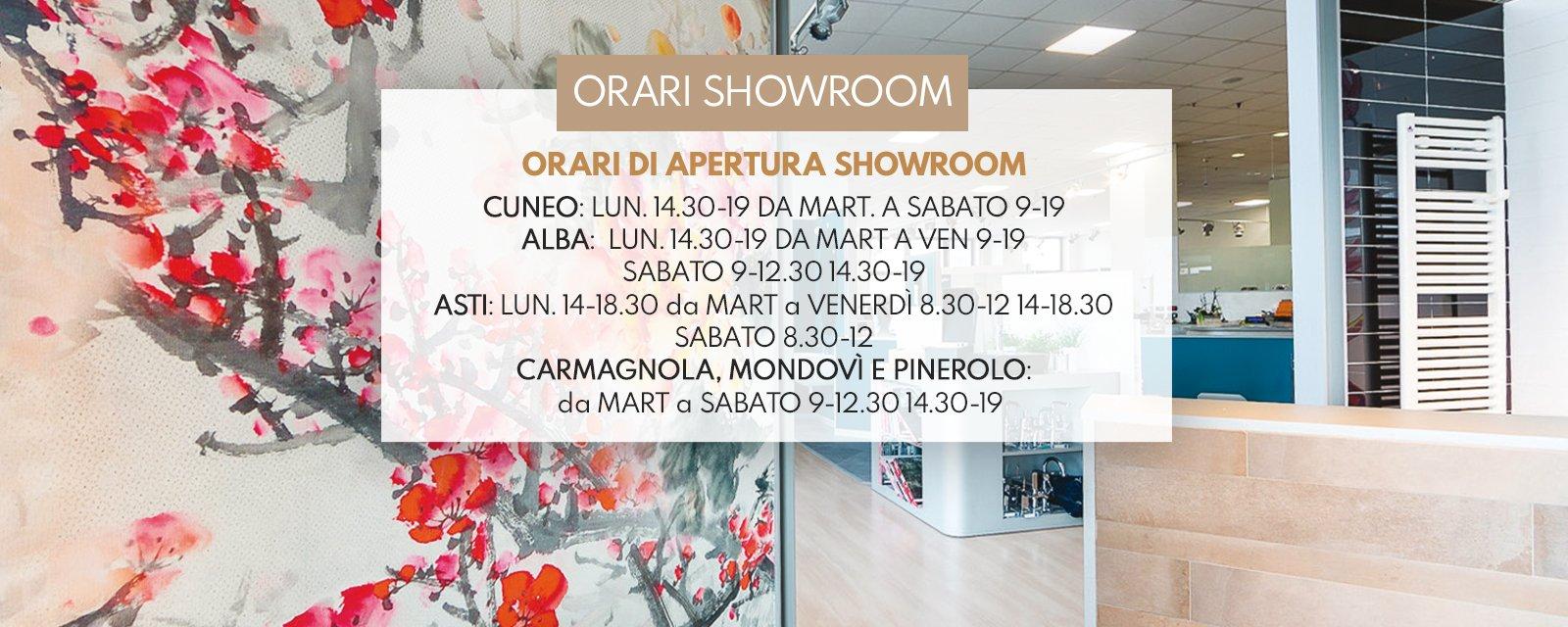 Orari showroom