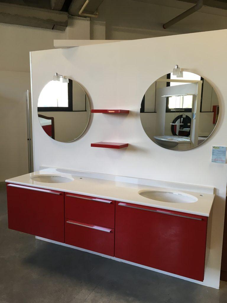 Mobile con doppio lavabo Arbi