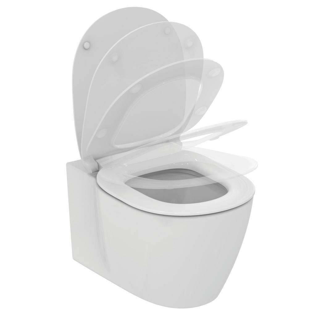 Connect vado sospeso Aquablade con sedile Softclose