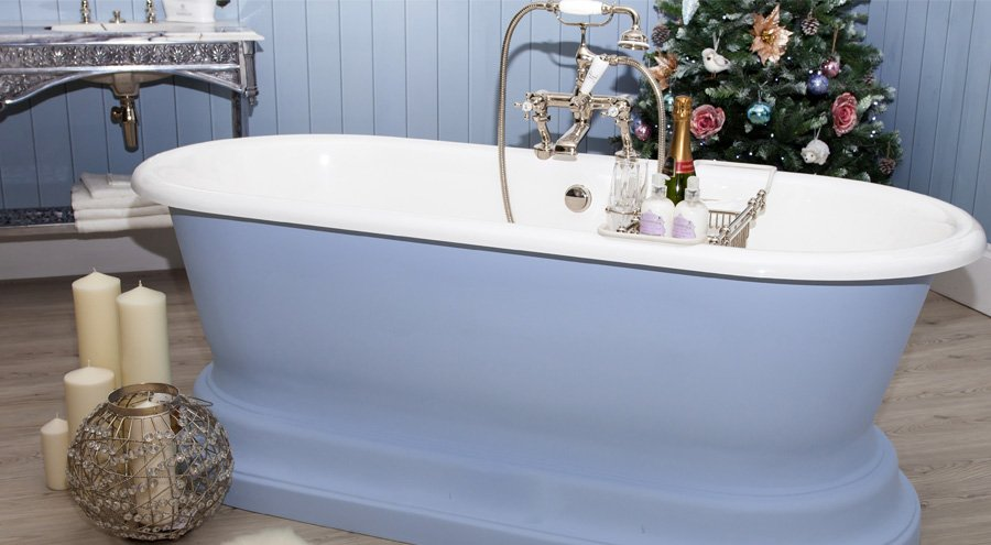 Come decorare il bagno a Natale
