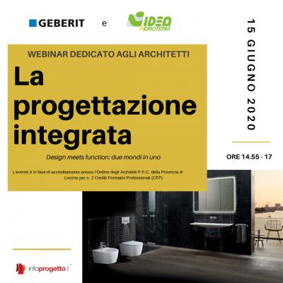 Webinar Geberit: 15 giugno 2020.