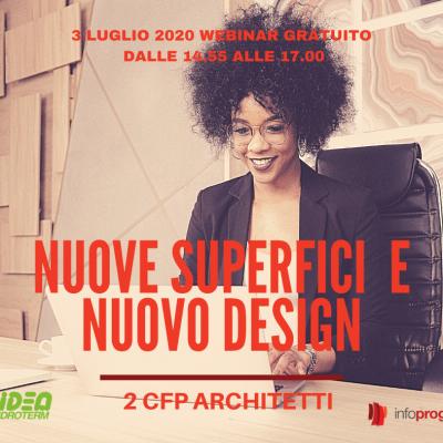 Webinar gratuito – 2 CFP Architetti