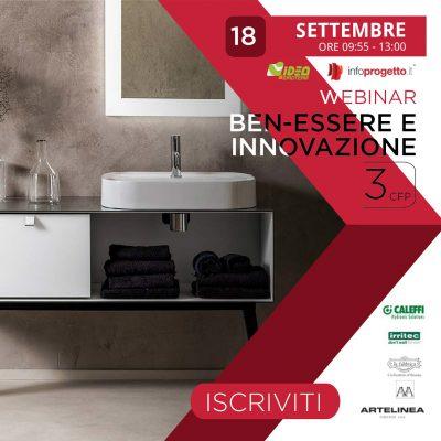 Il 18 settembre Webinar con Idroterm: Ben-Essere e Innovazione