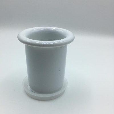 BICCHIERE BERTOCCI (ricambio in ceramica bianca)