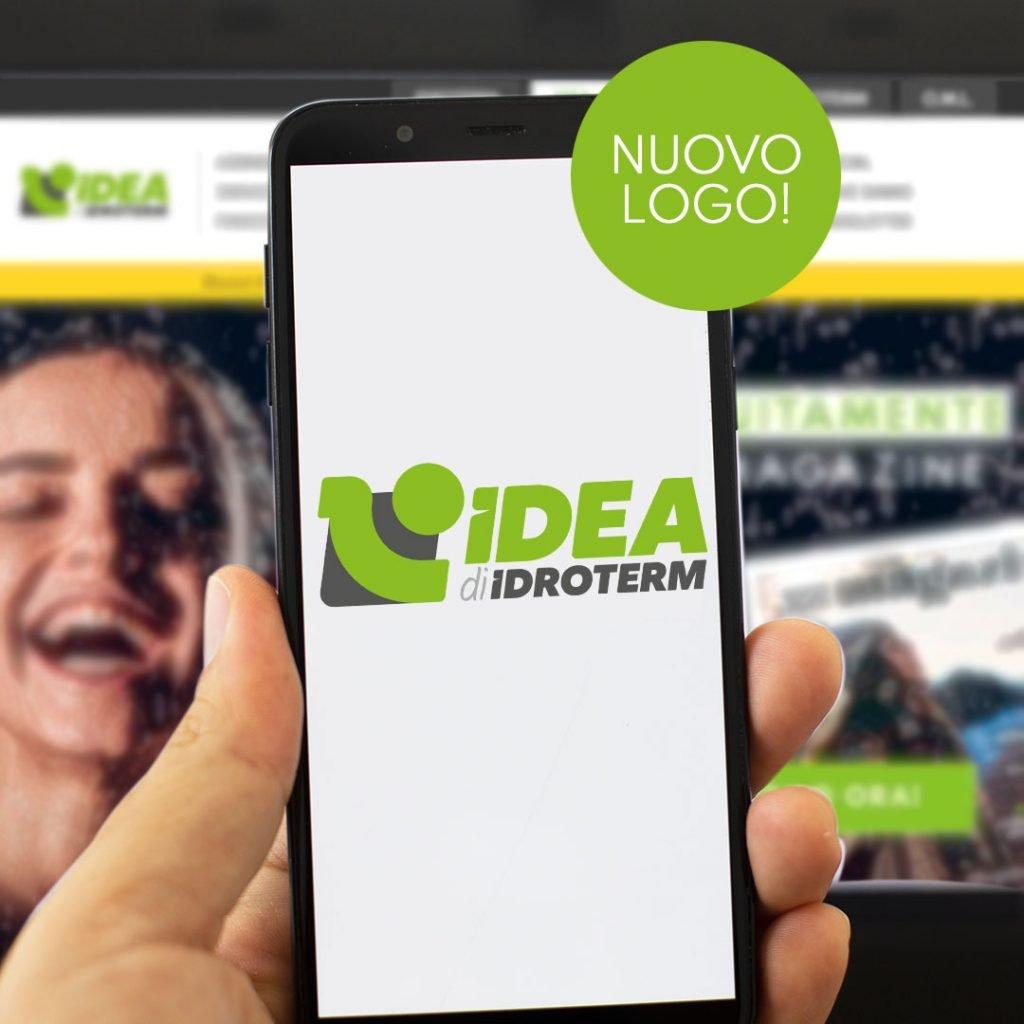 Idea di Idroterm, lo stile cambia Logo